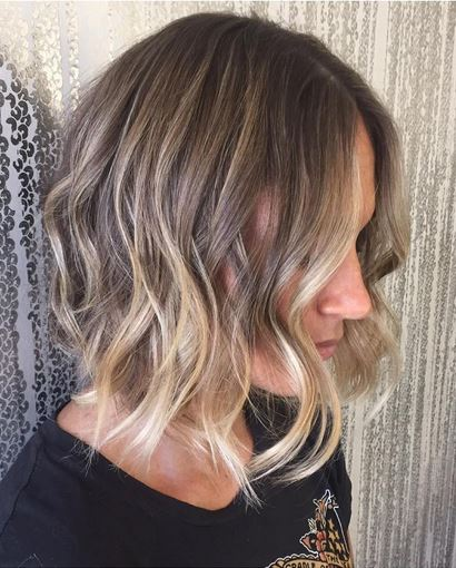 blonde highlights on dark blonde hair