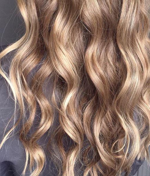 golden bronde hair color