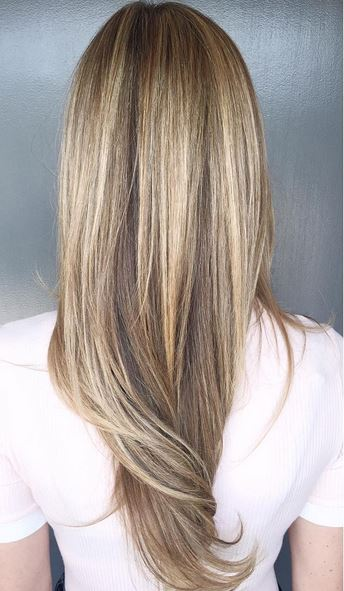 hair color goals - bronde