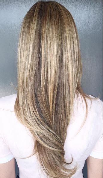 hair color goals - bronde