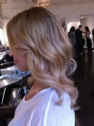 light blonde highlights