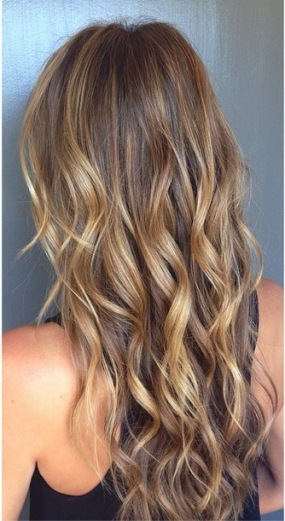 natural sunkissed highlights
