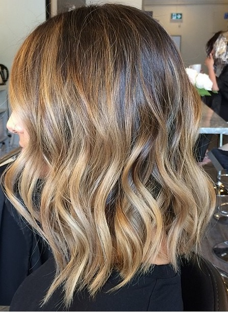 brunette ombre highlights