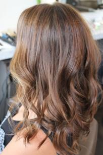 rich brunette hair color