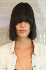 modern box bob haircut