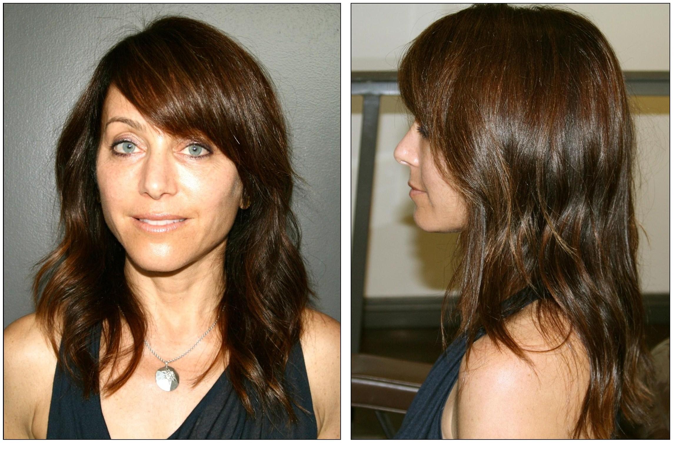 Mocha Brown Hair Color