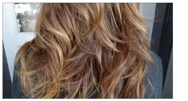 Medium Natural  Brown  Hair  with Highlights Neil George