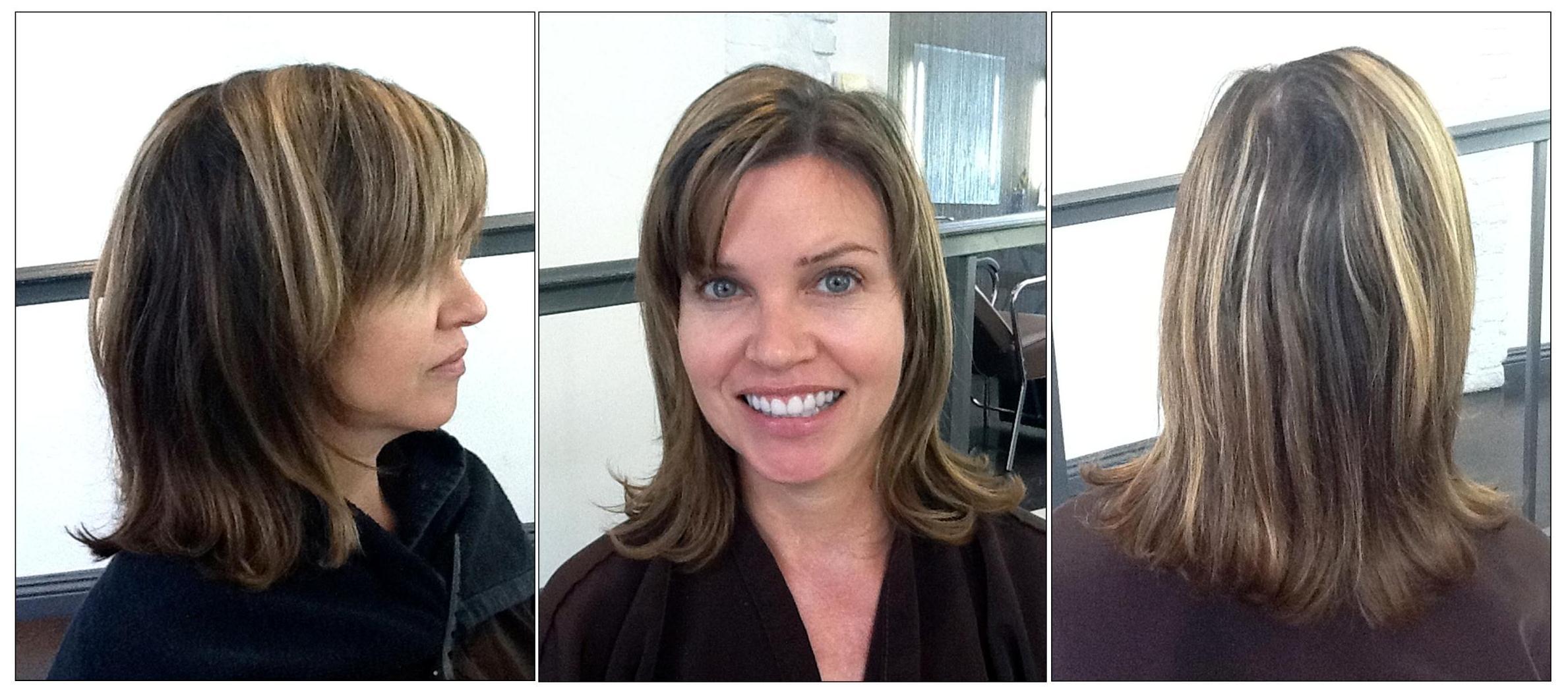 Brunette Hair Makeover Neil George