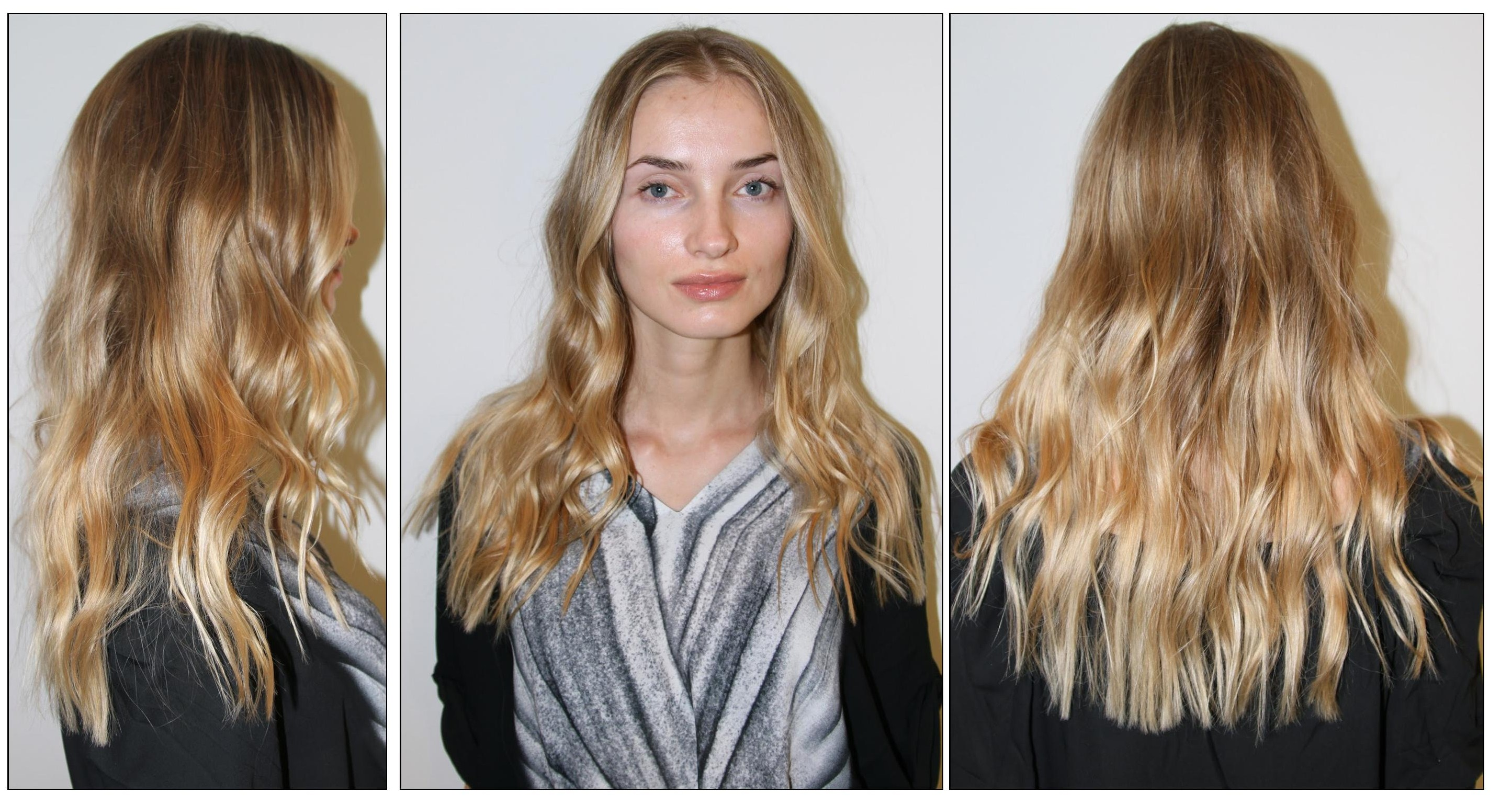 Before & After: Sun-Kissed Blonde Highlights | Neil George