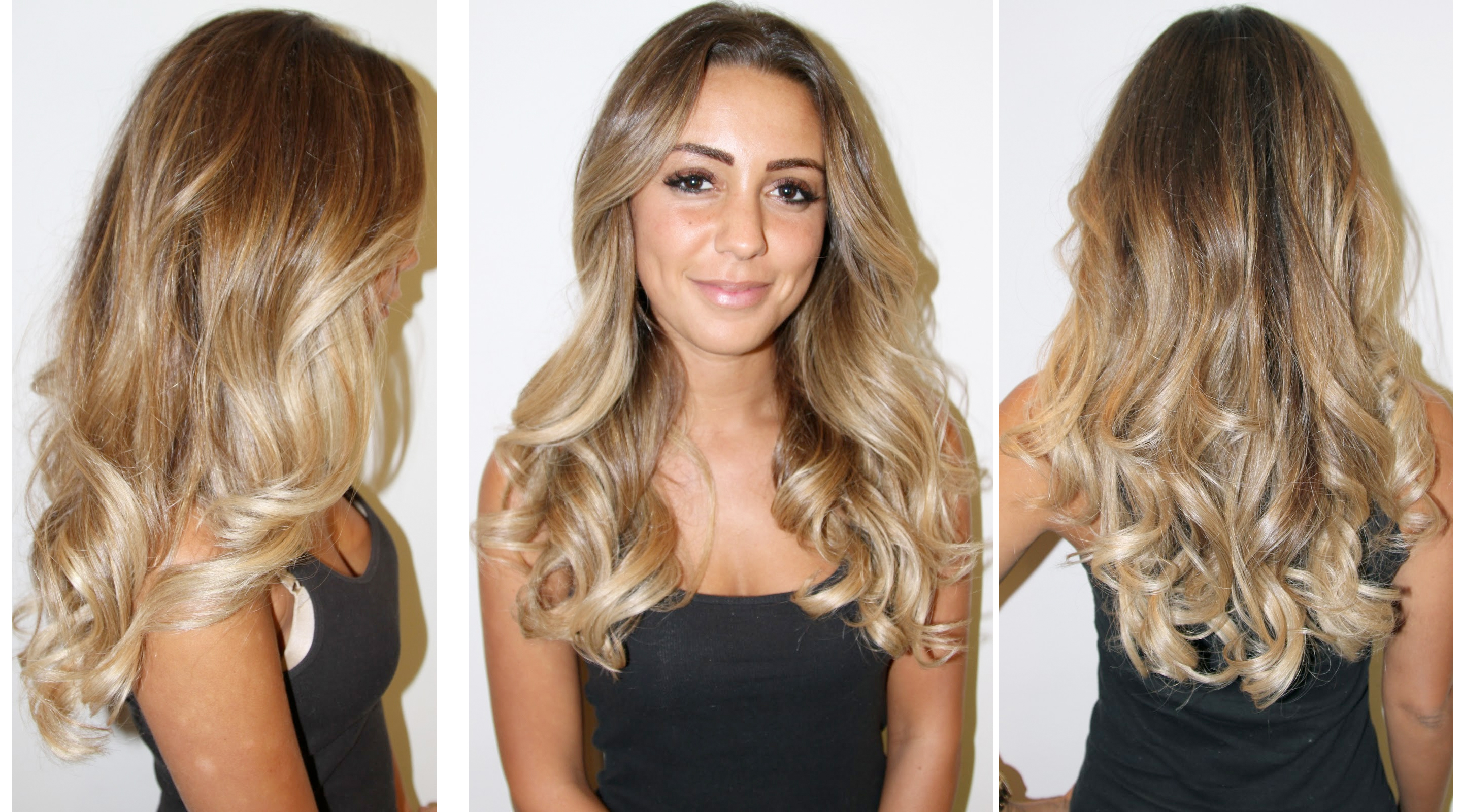Brunette Hair With Blonde Tips