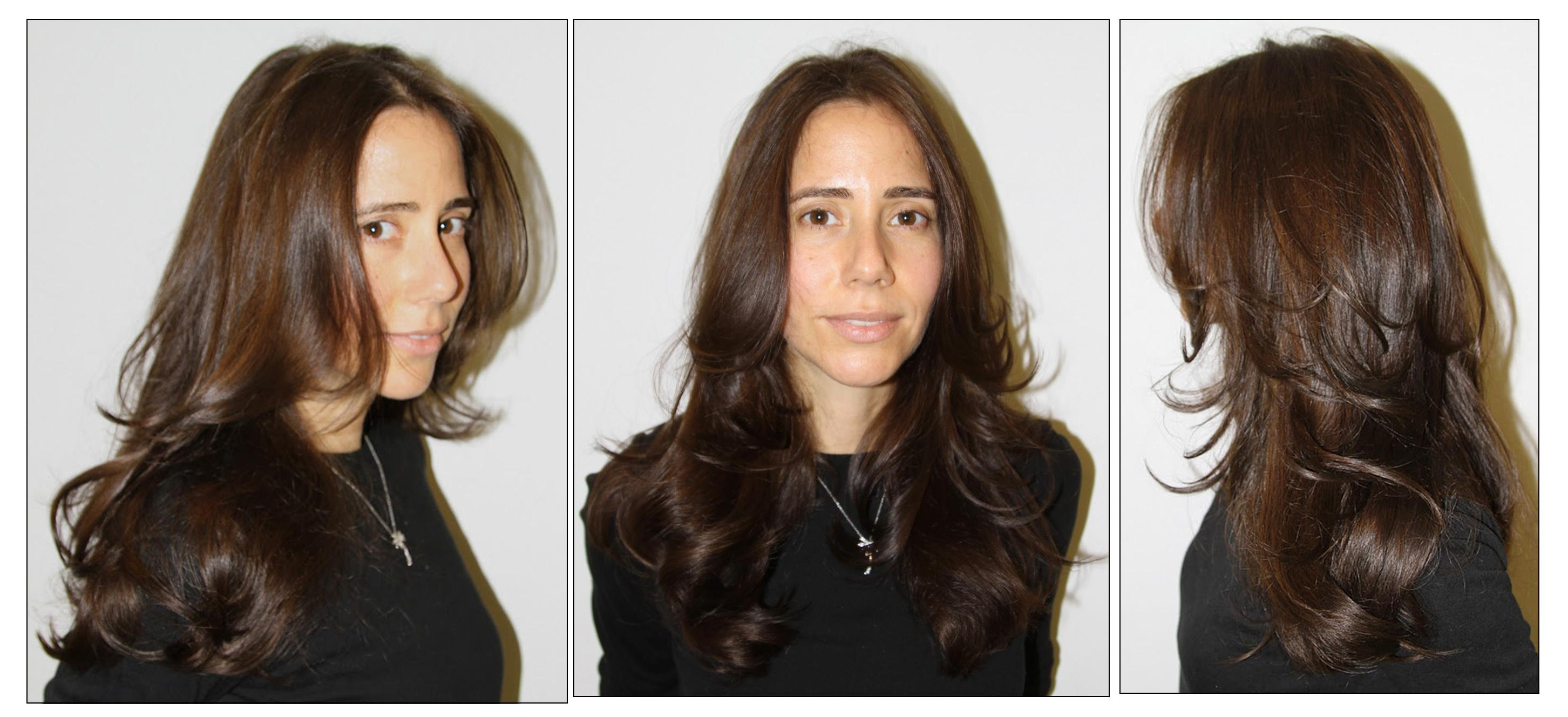 Before & After: From Brassy Blonde to Rich Dark Chocolate Brunette ...