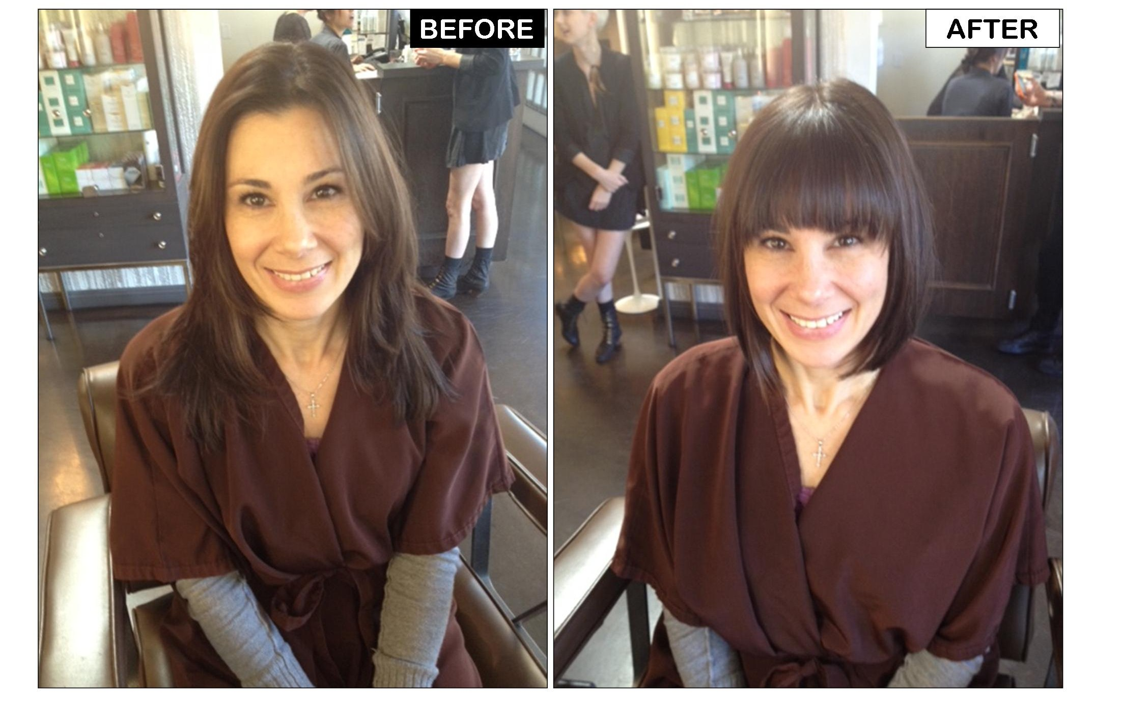 Chic Bob Hairstyle Neil George