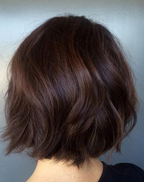 Brunette Highlights and Long Layers | Neil George
