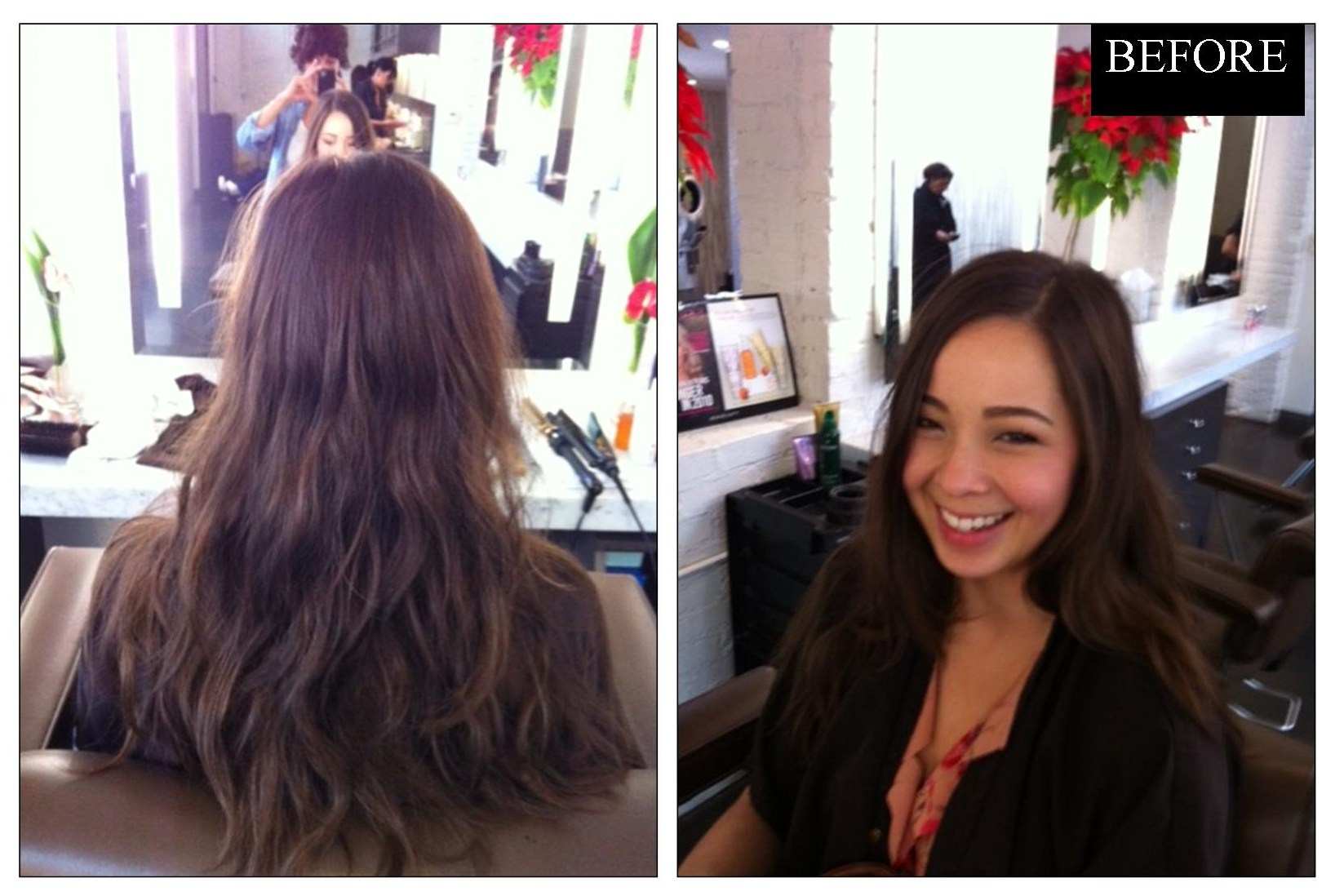 Hair Makeover From Long To Short And Wavy Neil George