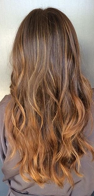 melted-caramel-brunette-highlights