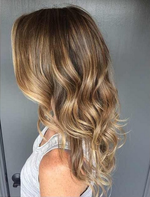 sunkissed-brunette-highlights