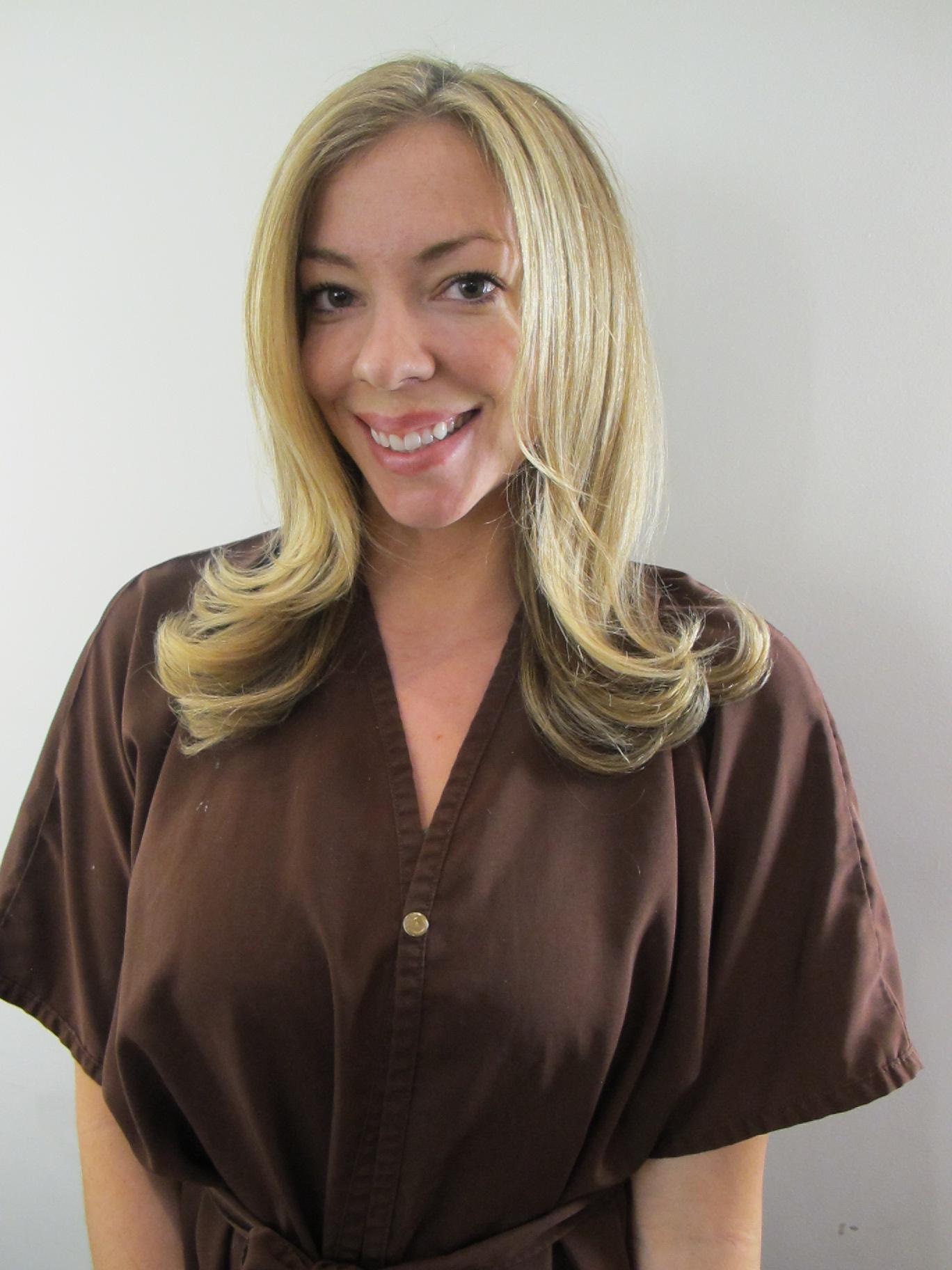 Cool Beige Blonde Formula   Dark Brown Hairs
