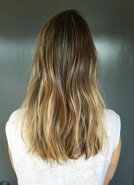 bronde balayage highlights