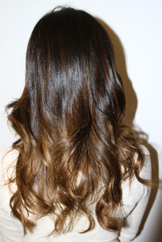 Subtle brunette ombre neil george - Ombre hair brune ...