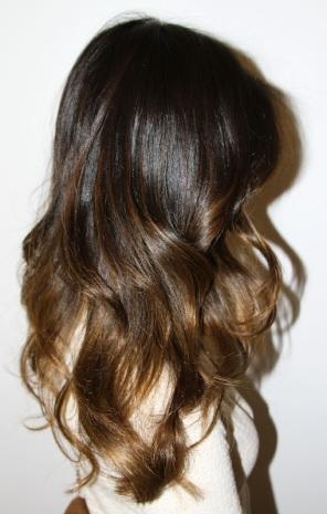 brunette ombre
