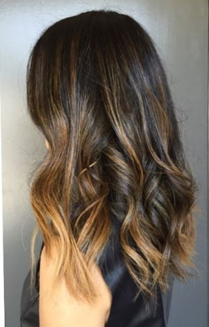 caramel brunette highlights (2)