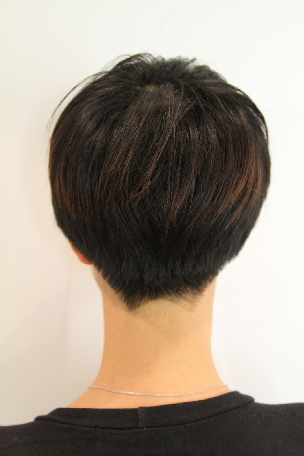 Short Chic Edge Haircut Neil George