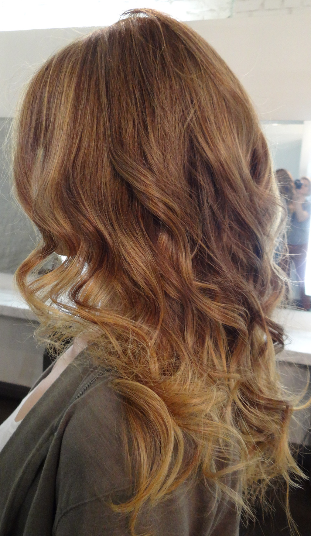 Golden dark blonde neil george - Ombre braun blond ...