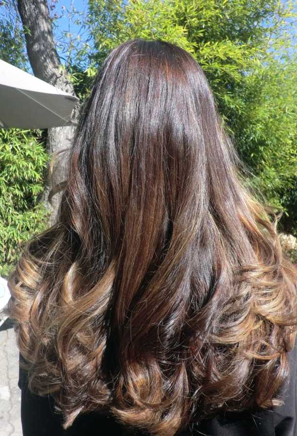 Dark Brown Hair With Highlights Neil George