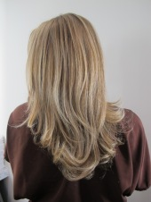 medium golden blonde