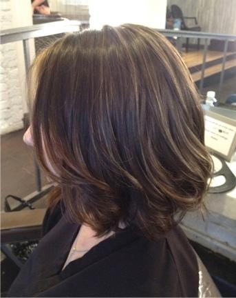 natural short cut hair