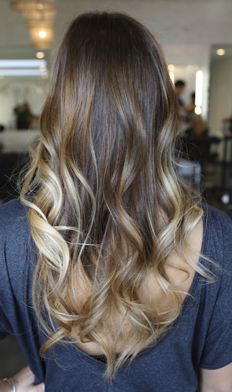 Ombré Hair Caramel Blond : brunette with caramel highlights neil george ~ Nature-et-papiers.com Idées de Décoration