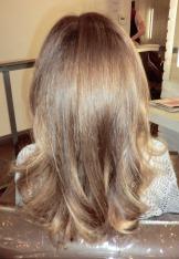 natural brunette highlights