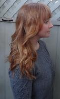 natural red hair