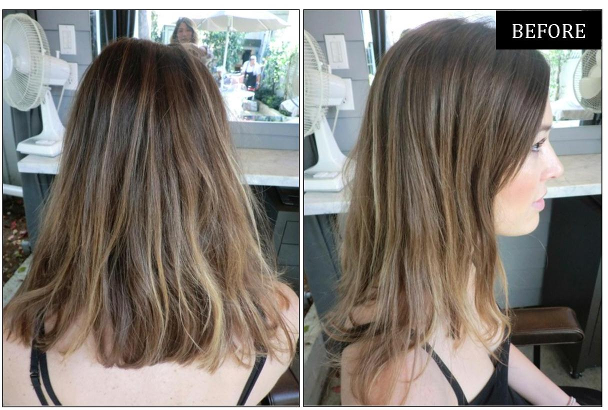 Hair Makeover : before and after hair makeover