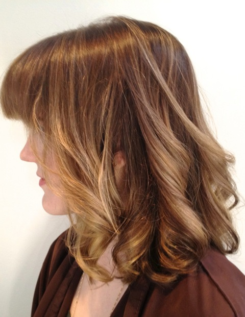 Blonde to Brown Hair Transition  Neil George