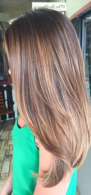 brunette balayage highlights (2)