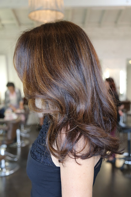 Hair Salon Highlights : Long Layers, Beachy Waves Neil George