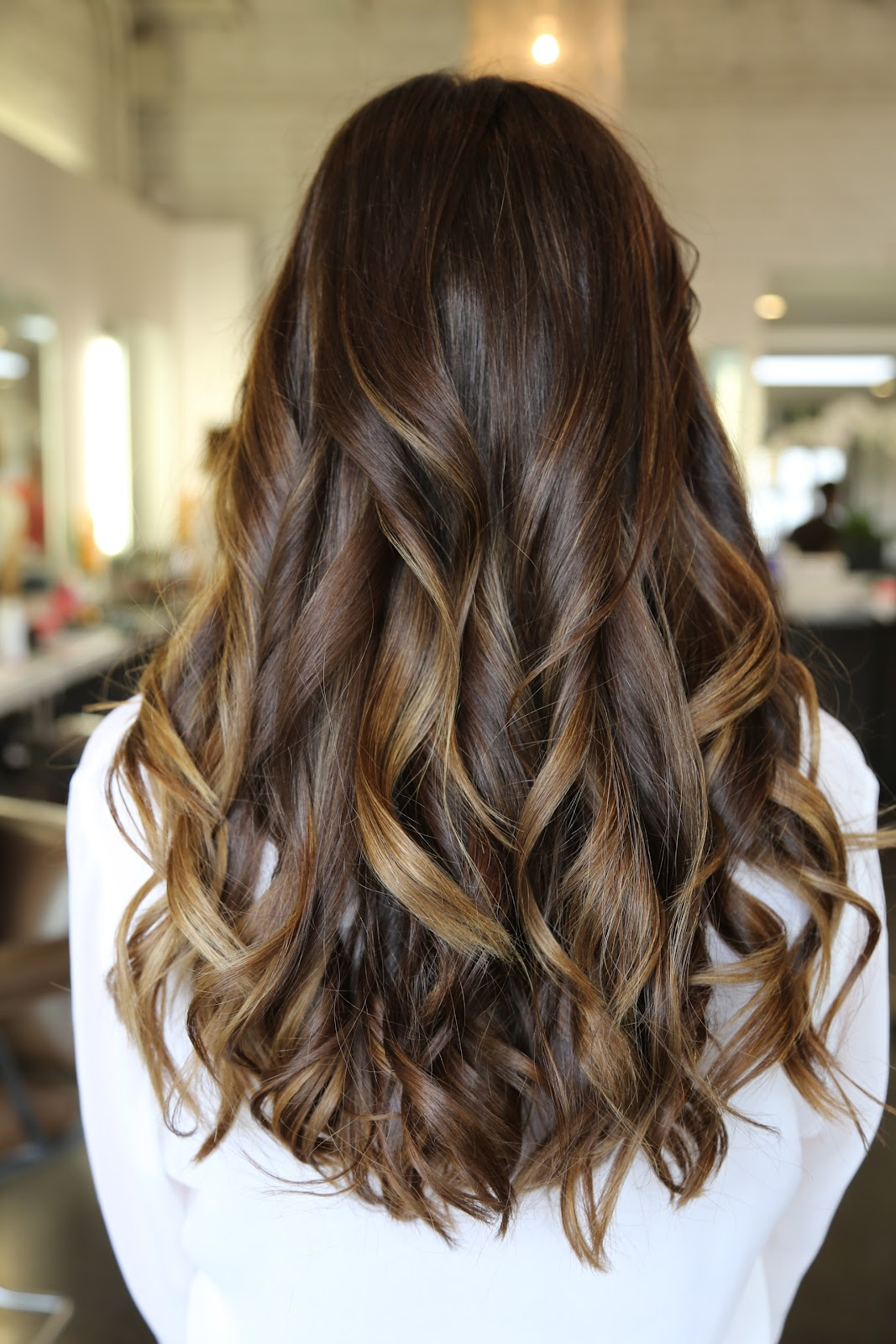 Rich Brunette and Caramel Highlights | Neil George