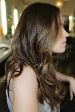 dark brown hair color