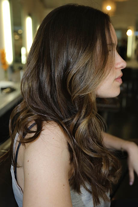 Brunette Color Correction Neil George