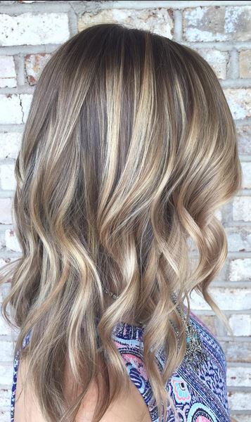 Brown Hair Color Light Brown Highlights