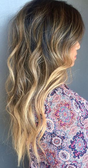 sunkissed-brunette-ombre-highlights