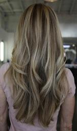 beachy blonde hair color