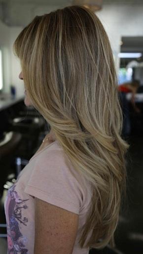 blonde highlights 2012