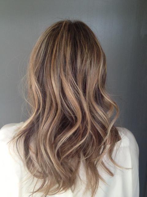 Light Brunette Hair Color Highlights Neil George