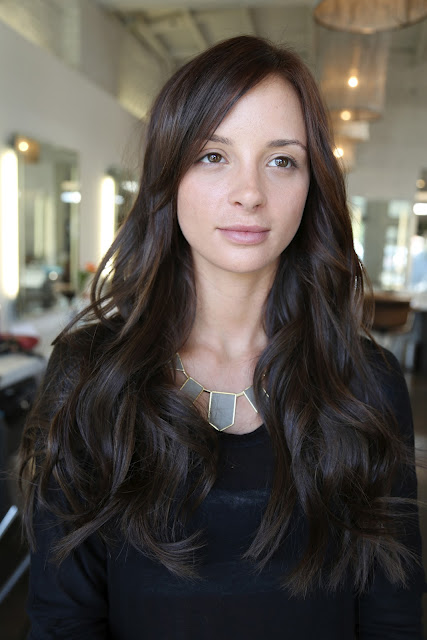 Before And After: Natural Looking Hair Extensions