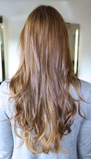 beachy brunette hair color