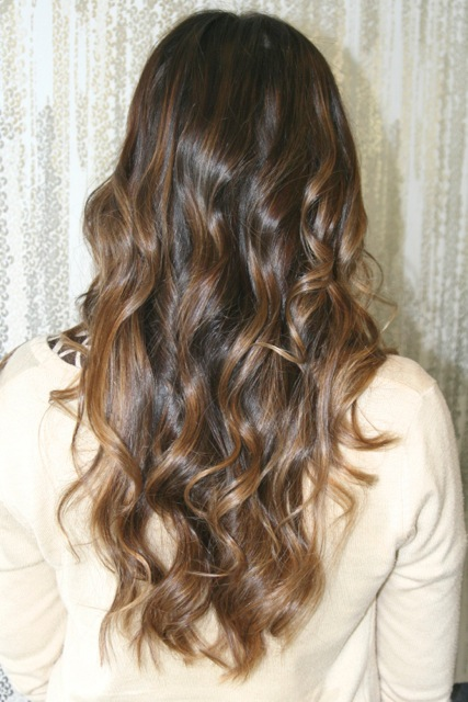 Light brown highlights