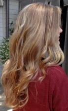 subtle blonde highlights