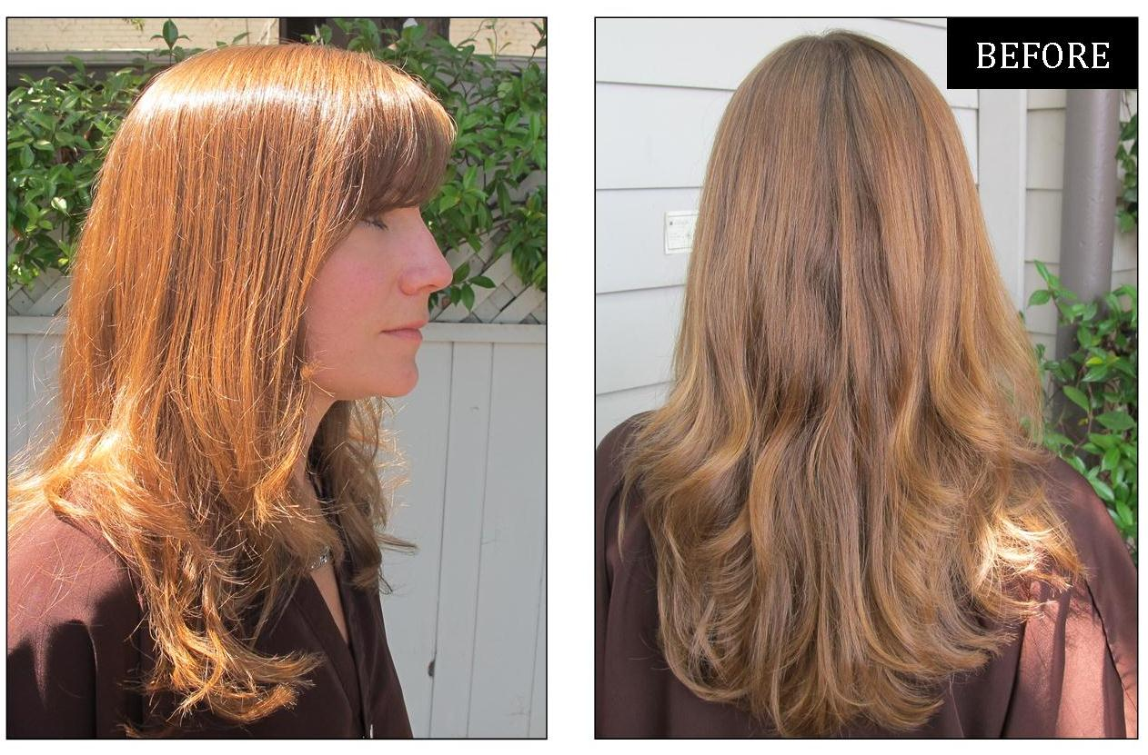 Light Golden Brown Hair Color Chart
